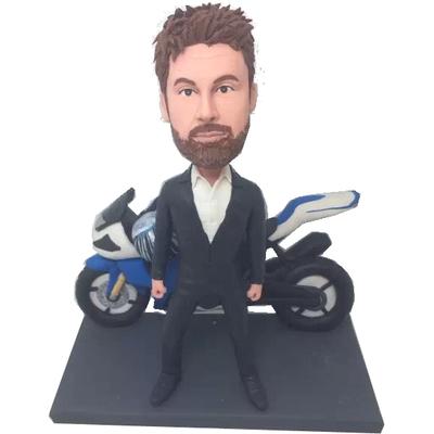 Motorcycle Bobblehead