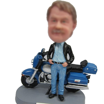 Motorcycle Bobble Head