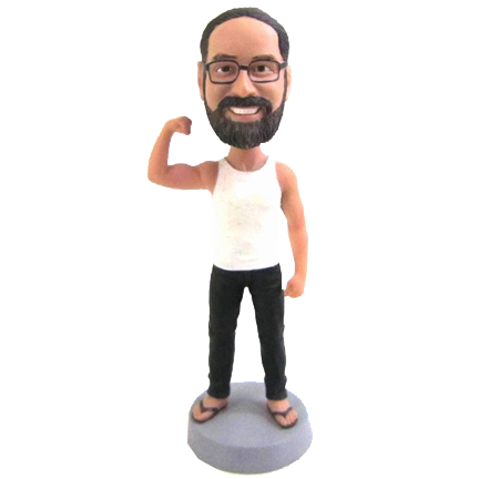 Muscular Man Bobblehead