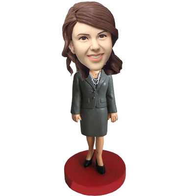 Office Lady Custom Bobble