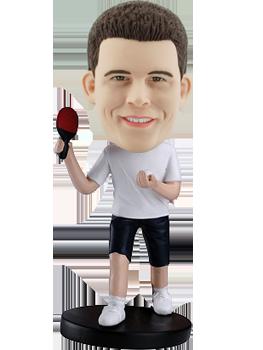 Personal Bobblehead Table Tennis