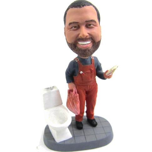 Personalised Plumber Bobble