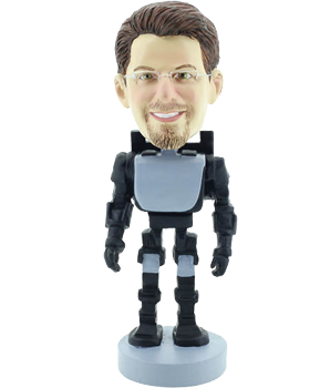 Personalised Robot Bobble Head