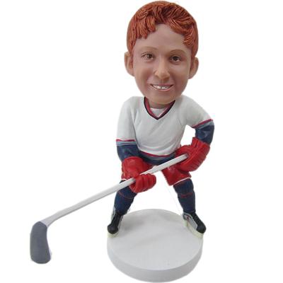 Personalized Hockey Buddy Bobblehead