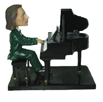 Pianist Custom Bobblehead
