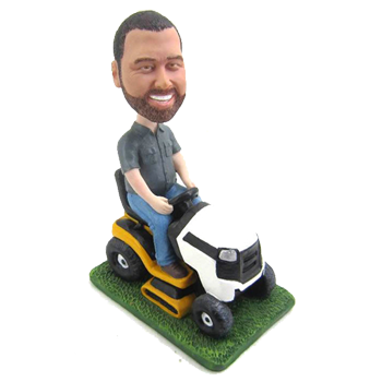 Riding Mower Bobblehead
