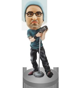 Rock Singer Custom Bobblehead