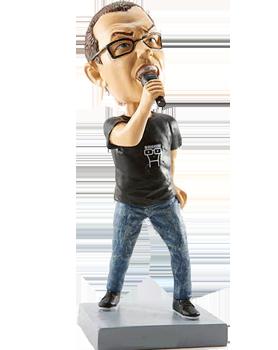 Custom Singing Bobblehead