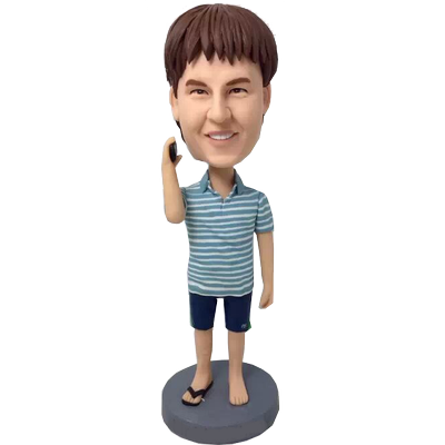 Single Flip Flop Custom Bobble Head