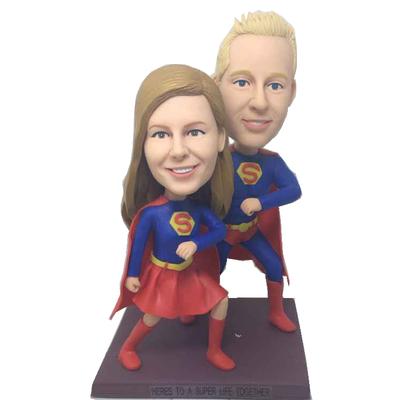 Super Couple Wedding Bobbleheads