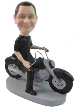Motorcycle Bobble Heads