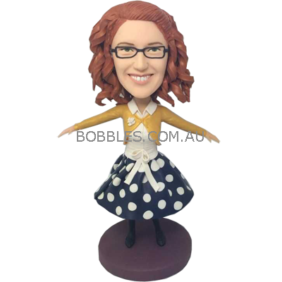 Custom bobble heads | personalized bobbleheads made from photo