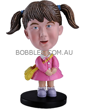 School Girl Custom Bobble head