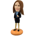 Custom Sexy Office Lady Bobble head