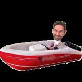 Custom Boat Bobblehead