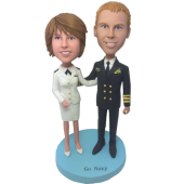 Airline Wedding Custom Bobbleheads