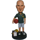 Basketball Coach Custom Bobblehead