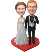 Batman Groom Wedding Bobbleheads
