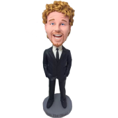 Business Man Personalised Bobblehead