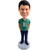 Casual Football Fan Bobblehead