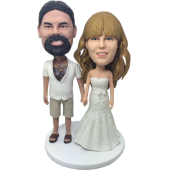 Casual Groom Wedding Bobbleheads