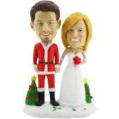 Christmas Wedding Bobbleheads