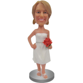 Classic Bridesmaid Bobble Head