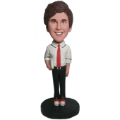 College Student Bobblehead