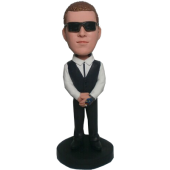 Cool Man Custom Bobble Head