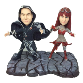 Couple in Costume Bobbleheads