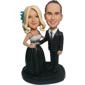 Crace Couple Wedding Bobblehead