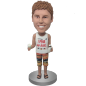 Custom Beer Man Bobble Head