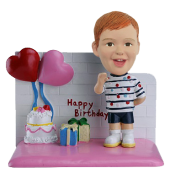 Custom Bobble Head Birthday