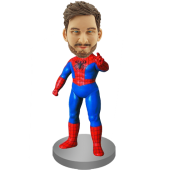 Custom Bobble Head Spider-man