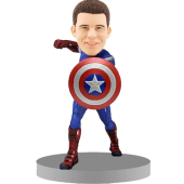 Personalised Bobblehead Captain America