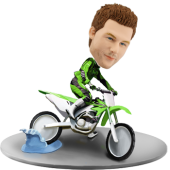 Custom Bobblehead Dirtbike
