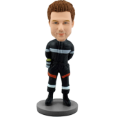 Custom bobble head Fireman