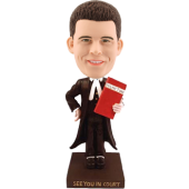 Custom bobblehead Lawyer