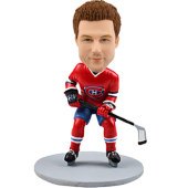 Custom bobblehead Montreal Canadians hockey