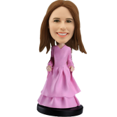 Custom bobblehead princess