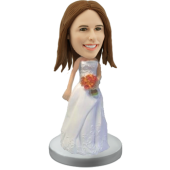Custom Bride Bobble head