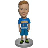 Custom Casual Boy Bobble Head