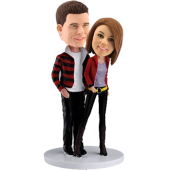 Custom Fashion Lovers Bobble head