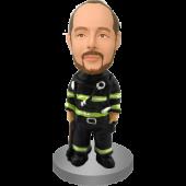 Custom Fireman Bobblehead