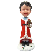 Custom Hobble head Christmas Kid