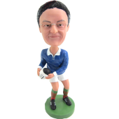 Custom Rugby Player Bobblehead