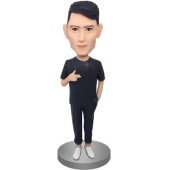 Custom Stylish Man Bobble Head