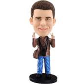 Custom Tourist Bobble head