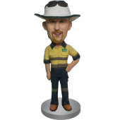 Custom Worker Bobblehead