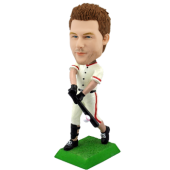 Customised bobblehead baseball